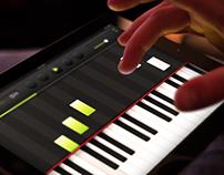 Classico – Professional iPad Piano App UI