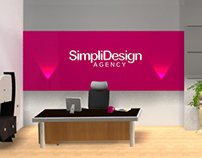 office view 3d banner