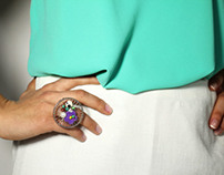 Iris || skirt and ring