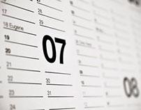 Helvetica Calendar 2014