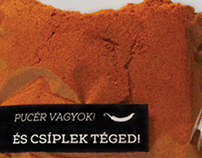 Red paprika package design // 2013