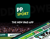 Paddy Power iPad app