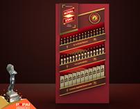 Wall Bay Pernod Ricard India