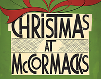 McCormacks Pub Naas Christmas Poster 2013