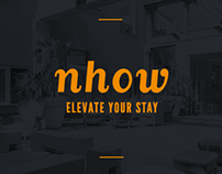 Nhow -NH Hotel - Digital Strategy & Art direction