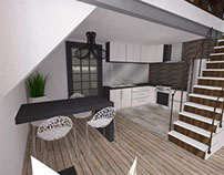 Interior project offer for Apartment