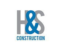 H&S Construction company - Logo