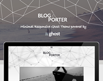 Blog-A-Porter - Minimal Responsive Ghost Theme
