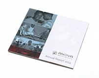 Anova Health Annual Report design