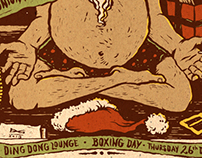 The Smith Street Band Boxing day show poster