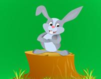 Carrot Digger-Free Game Assets PSD