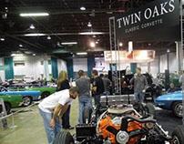 Twin Oaks Classic Corvette Signage