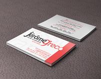 Business card inssurance / Carte de visite assurance