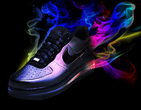 Nike AIR FORCE 1  FOAM with SMOKE