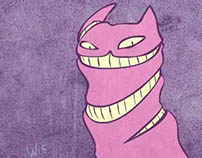 Animation: Cheshire Cat
