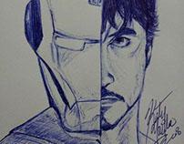 Tony Stark - bolígrafo