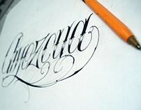 Amezcua / Diseño para tatuaje.