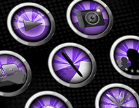 Paintball Mirabel - Website Icons