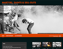 Martyrs, Saints & Sell-outs, exhibition website