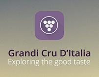 Grandi Cru D'Italia App Design