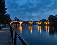 Sunset in Torino