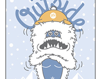 Sasquatch Holiday Card