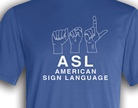 American Sign Language T-shirt