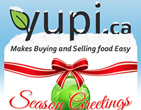 Yupi.ca - Seasons Greetings MailChimp Campain