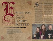 Harry Potter Editorial Spread