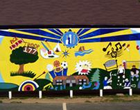 Mural Montessori