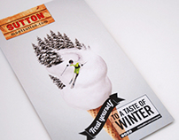 "SUTTON - ""Treat Yourself to a Taste of Winter"" campaign"