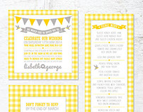 Lisbeth & George's Wedding Stationery
