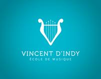 Branding - École de musique Vincent-D'Indy
