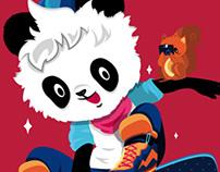 The Skater Panda