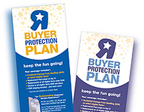Toys R Us & Babies R Us Buyer Protection Plan Brochures