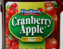 Foodtown Private Label Fruit Juice Packaging