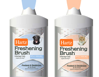 Hartz Freshening Brushes for Dogs and Cats