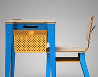 TIZA 2.0 - Mobiliario escolar