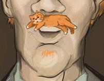 Cat Stache