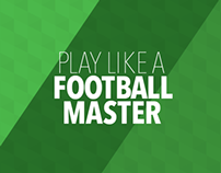 Play like a football master