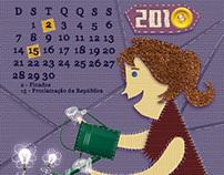 Calendário 2010 - Unione