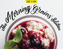 Cooking Light Magazine Lettering