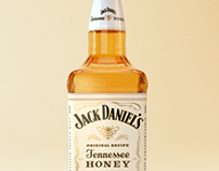 Jack Daniel's Tennessee Honey Product Shot