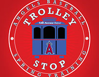 Angels Spring Training Trolley