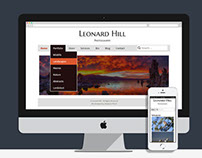 Leonard Hill Photography Website