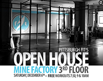 2014 - Pittsburgh FIT Open House Flyer
