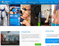 Novo Site Academia Physical Center