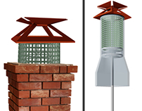 Adjustable Chimney Flue and Cover