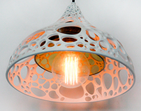 Alga - 3D Printed Lighting Design