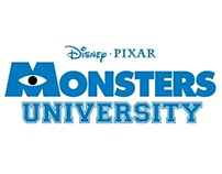 Monsters University Ambient Marketing